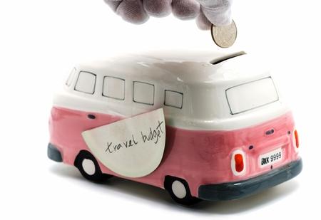 saving money for travel budget