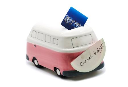saving for travel budget Imagens
