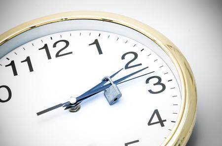 detener el concepto de tiempo Foto de archivo