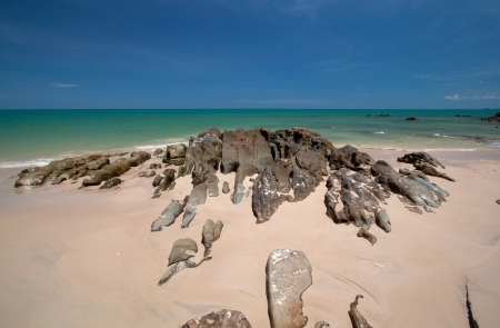 southern thailand: beach of southern Thailand Andaman Stock Photo