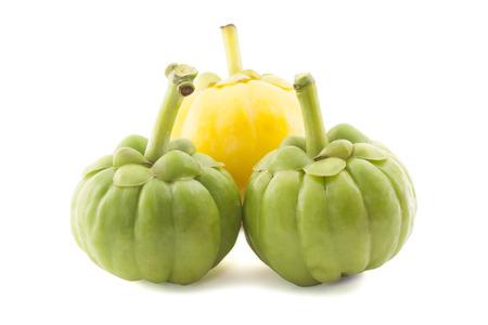 citrus fruit: malabar tamarind isolated on white background Stock Photo