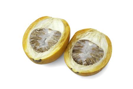 ripe acera or betel palm nut fruit photo