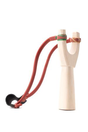 catapult or slingshot isolated on white background