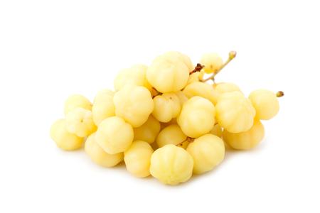 star gooseberry fruit isolated on white background