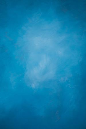 geschilderde blauwe muur, gebruiken voor achtergrond Stockfoto
