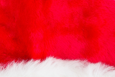 red carpet background: texture of white and red fur , use for background