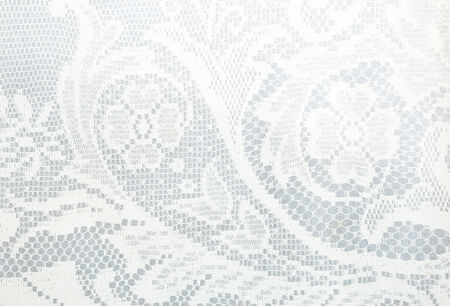 white lace pattern use for background Banco de Imagens