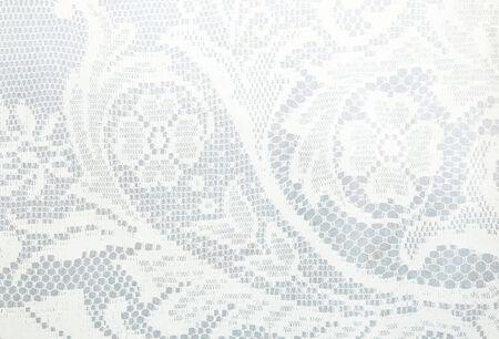witte kanten patroon gebruikt voor de achtergrond