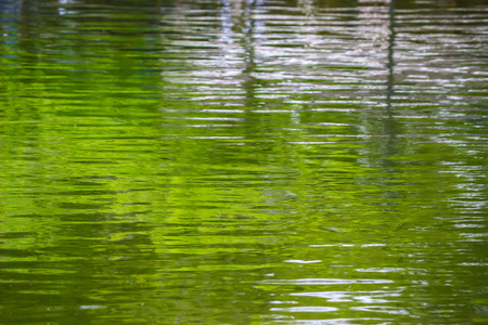 rimpel oppervlakte van het water achtergrond Stockfoto