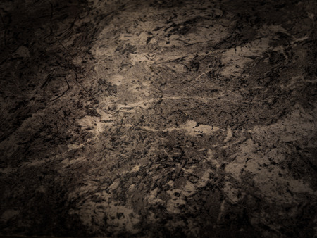 grungy painted black  brown wall , use for background Banco de Imagens