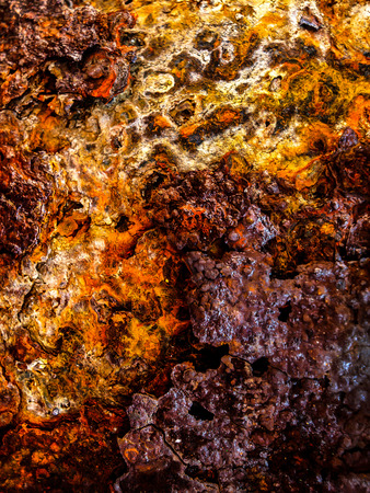 old grunge rusty metal sheet abstract background