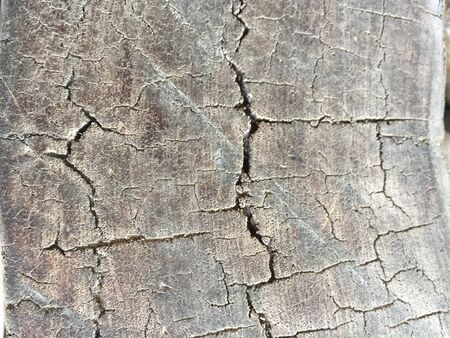 It is an old crack wooden plank used for abstract or texture background.
