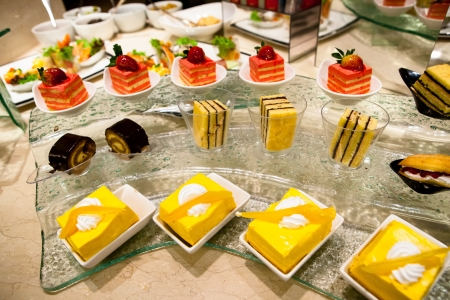 buffet table: Sweets Cattering