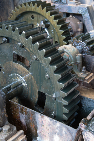 torque: Metal gears close up