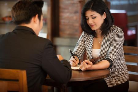 resource: Human resource concept:Job interview.