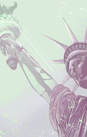 statue of liberty in new york america