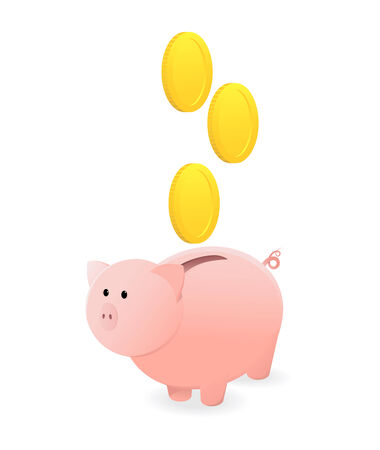 piggy bank Stock Vector - 5353203