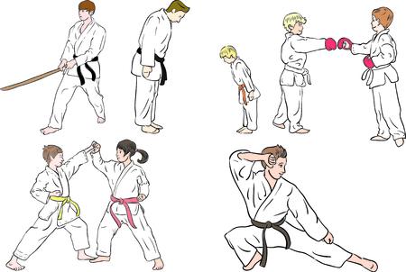arts: martial arts character