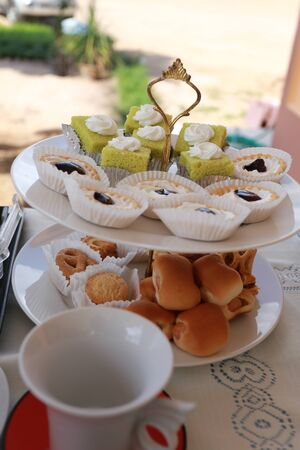 collocation: sweets Stock Photo