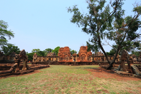 tam: Maung Tam Castle at Thailand Editorial