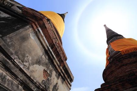 chai: Wat Yai Chai Mongkhon old temple