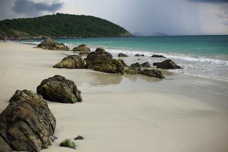 Nang Ram beach in Thailand Stock Photo