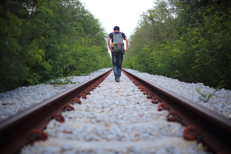 doldrums: The man goes on rails