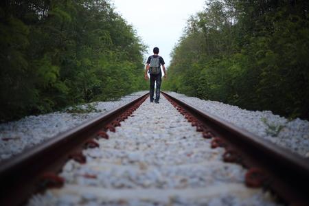 melancholia: The man goes on rails