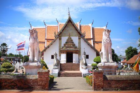 Wat Pu Min temple in Nan, Thailand