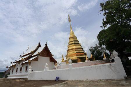 Wat Phra That Pu Jae Temple at Phrae, Thailand