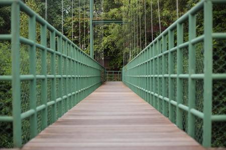 Suspension bridge in Rayong, Thailand