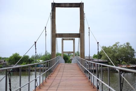 Rak Sa Mae bridge at Rayong ,Thailand
