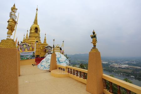 Wat Ban Tham Kanchanaburi in Thailand