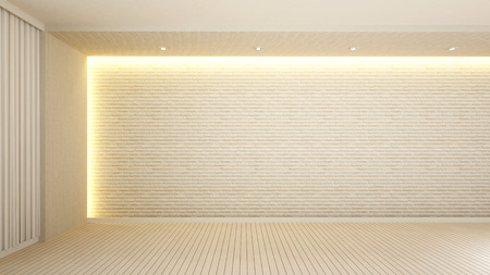 empty room in reception or lobby - 3d rendering Archivio Fotografico - 111019850