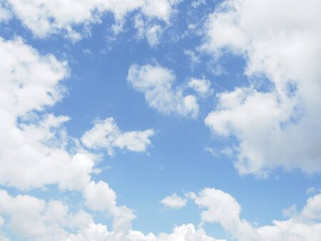 cloud on clear sky - image for artwork Banque d'images - 128997706
