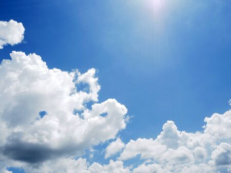 cloud on clear sky - image for artwork - dark tone Banque d'images - 128997725
