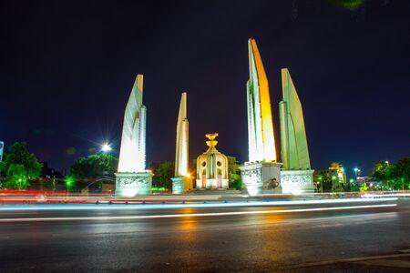 democracy Monument: Democracy monument at Thailand Stock Photo