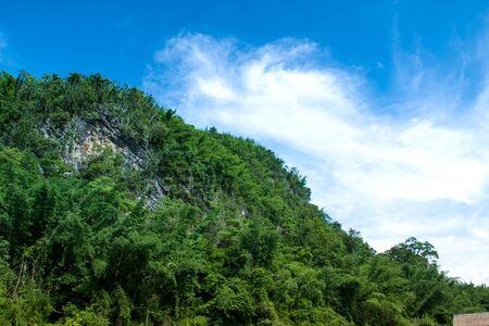 kanchanaburi: The mountain at kanchanaburi