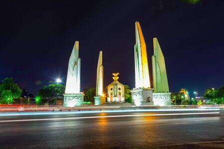 democracy Monument: Democracy Monument, Thailand Stock Photo