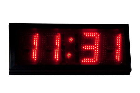 Digital clock photo