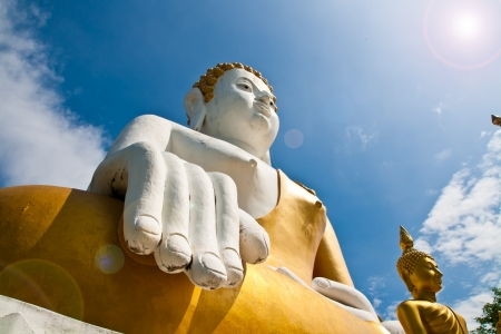 A biggest Buddha in Thailand photo