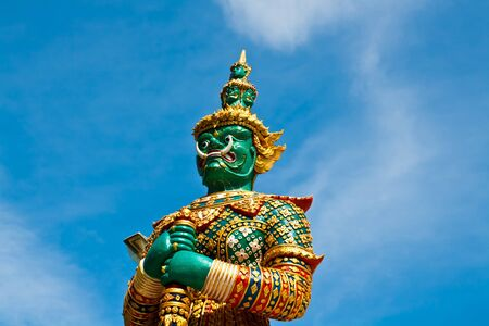 native Thai style giant statues Stock Photo - 15444329
