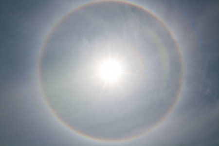 background Corona, ring around the sun Stock Photo - 15705326