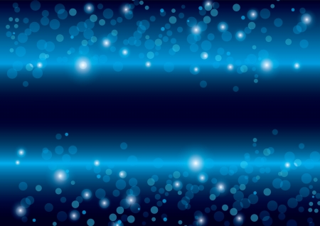 beautiful abstract blue background vector Vector