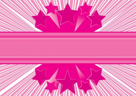 Pink abstract background  Vector illustration Stock Vector - 16318439