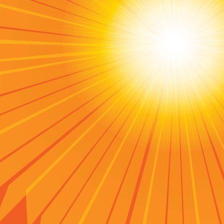 camera flash: Sun vector background eps 10 illustration