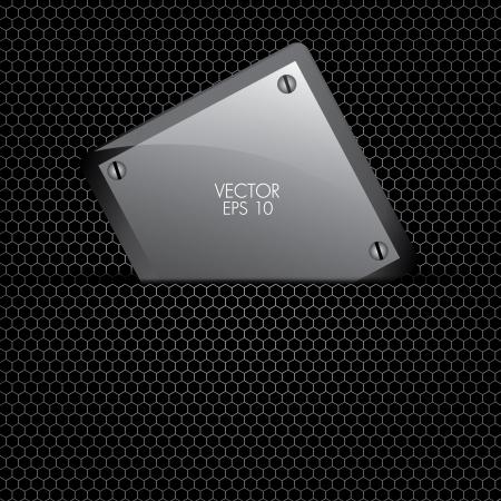 etal background vector with sign   applique, vector eps 10 Stock Vector - 16319396
