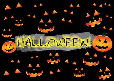 happy Halloween day  Vector illustration Stock Vector - 16319534