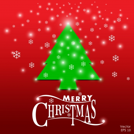 Merry Christmas vector background Stock Vector - 16319439
