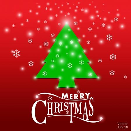 Merry Christmas vector background Stock Vector - 16319439